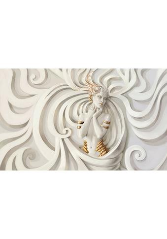 Consalnet Vliestapete »FRAU RELIEF«, grafisch, in verschiedenen Größen kaufen