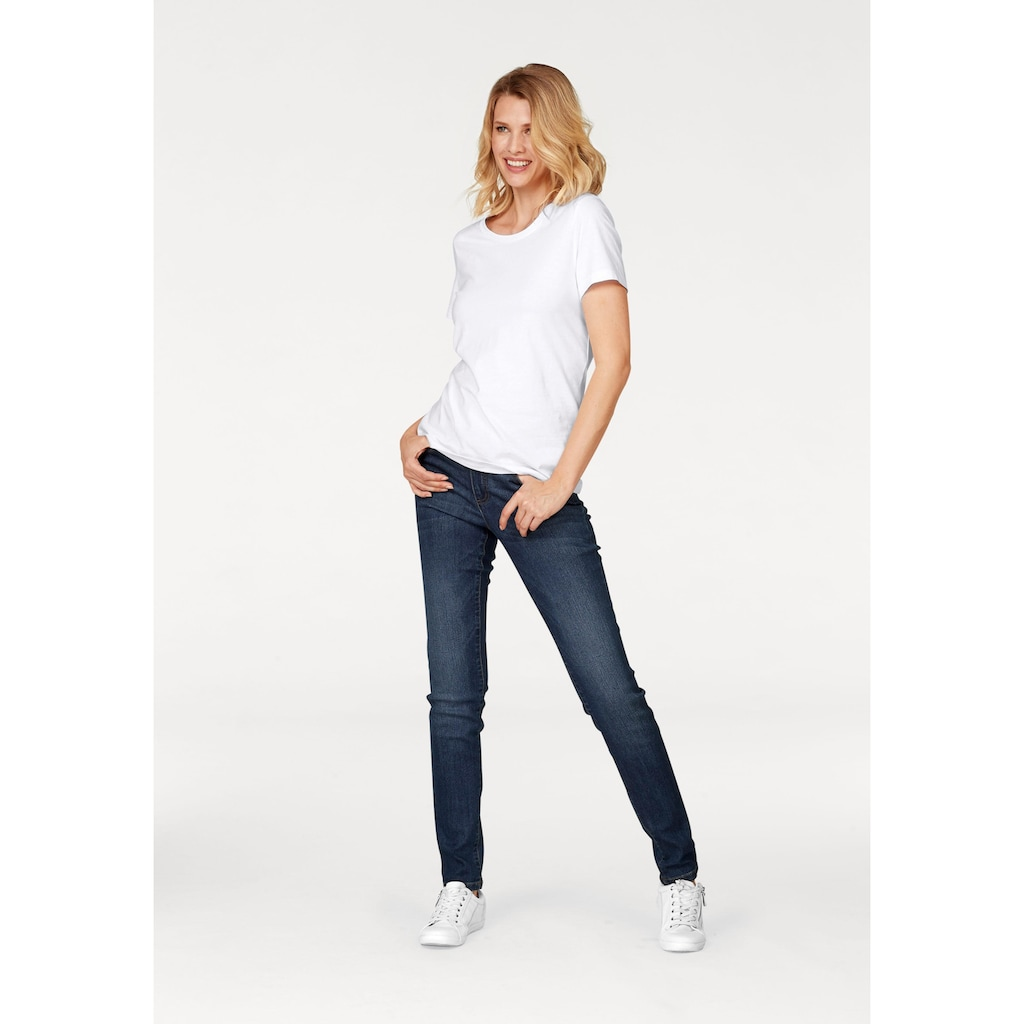 Aniston CASUAL Skinny-fit-Jeans, Regular-Waist
