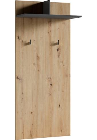 byLIVING Garderobenpaneel »Ben«, Breite 60 cm, mit Kleiderhaken und Ablage kaufen