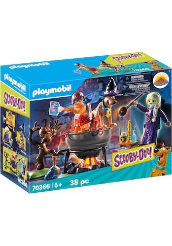 Playmobil® Konstruktions-Spielset »SCOOBY-DOO! Abenteuer im Hexenkessel (70366),... kaufen