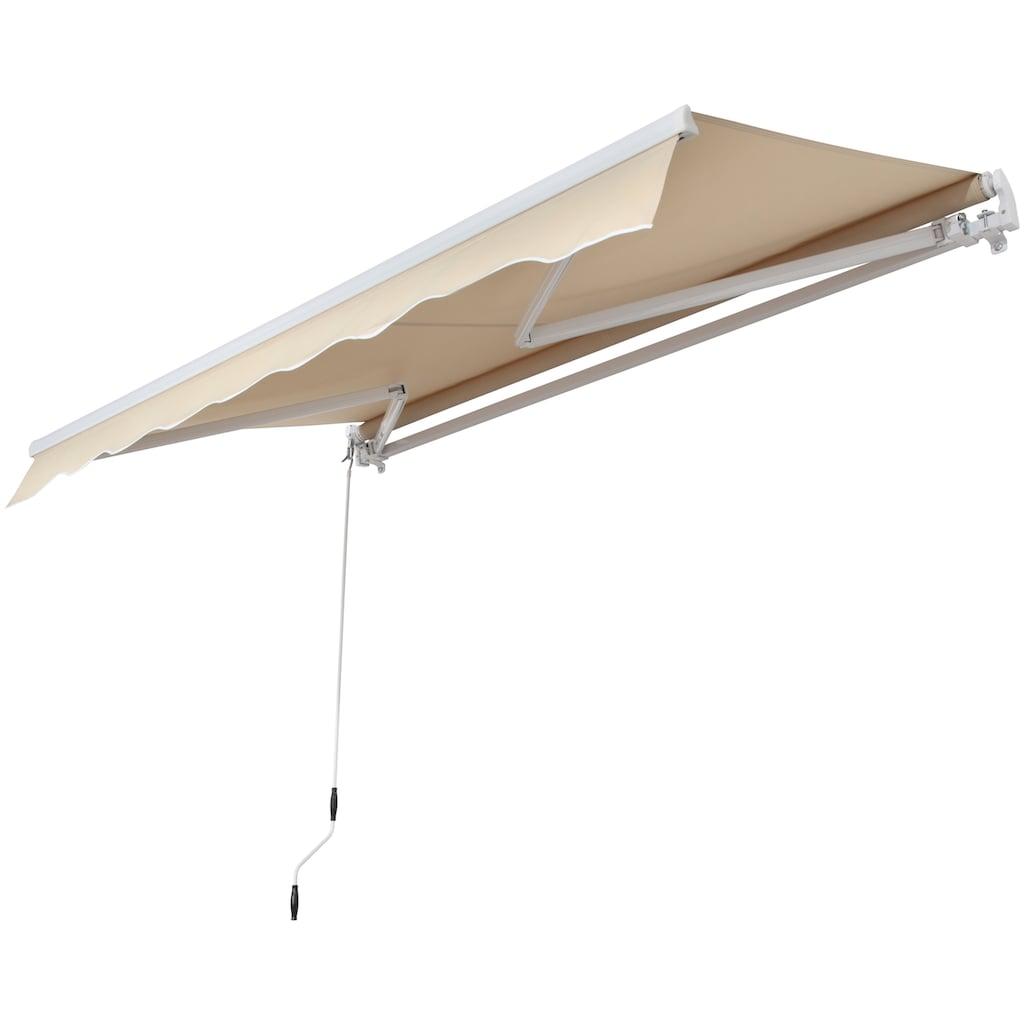 KONIFERA Gelenkarmmarkise, Breite/Ausfall: 295/200 cm, Neigungswinkel verstellbar