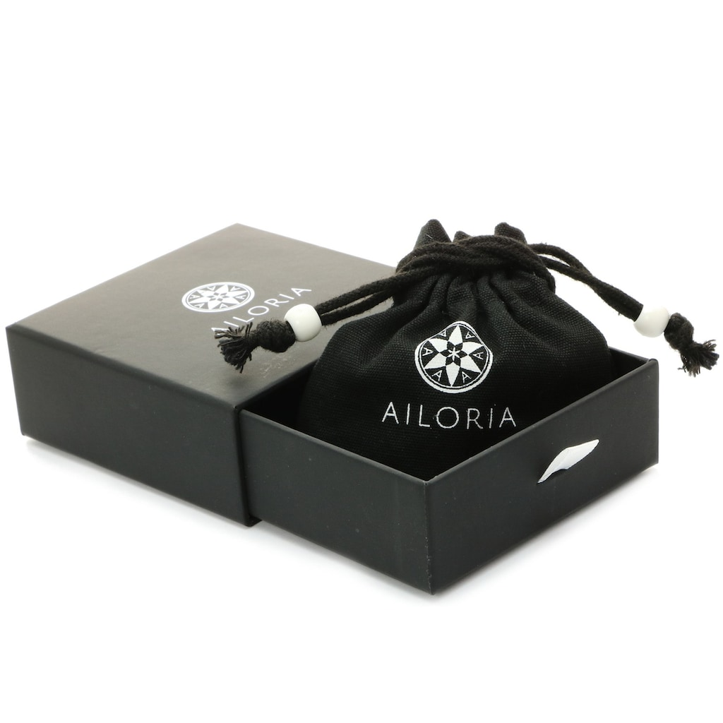 AILORIA Paar Ohrhänger »CAPUCINE Ohrringe«, Edelstein in Blumenform in AAA-Qualität