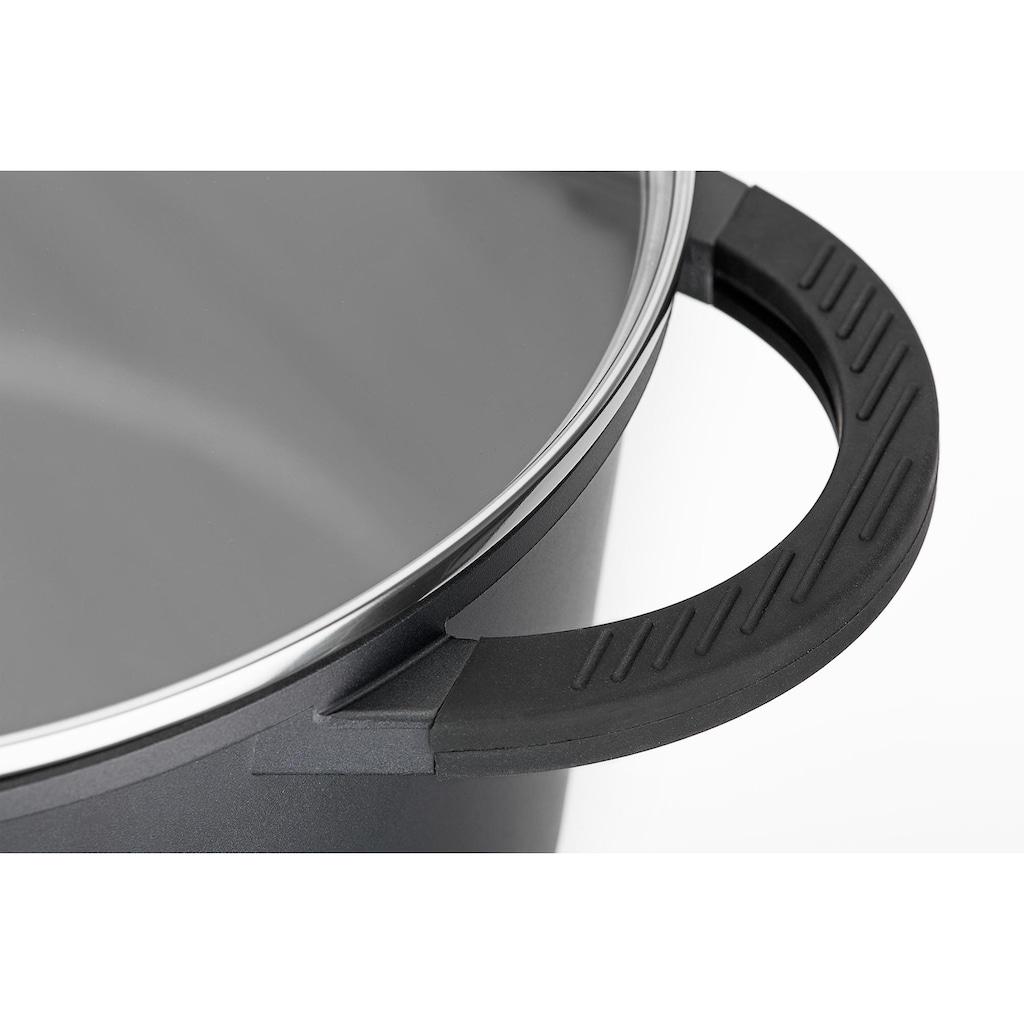 GSW Bräter »SilcoGuss noir«, Aluminiumguss, (1 tlg.), Induktion, incl. Literskala