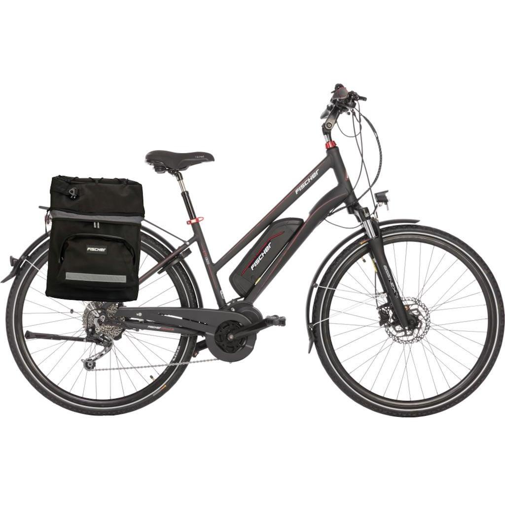 FISCHER Fahrräder E-Bike »ETD 1920«, 10 Gang, Shimano, Deore, Mittelmotor 250 W