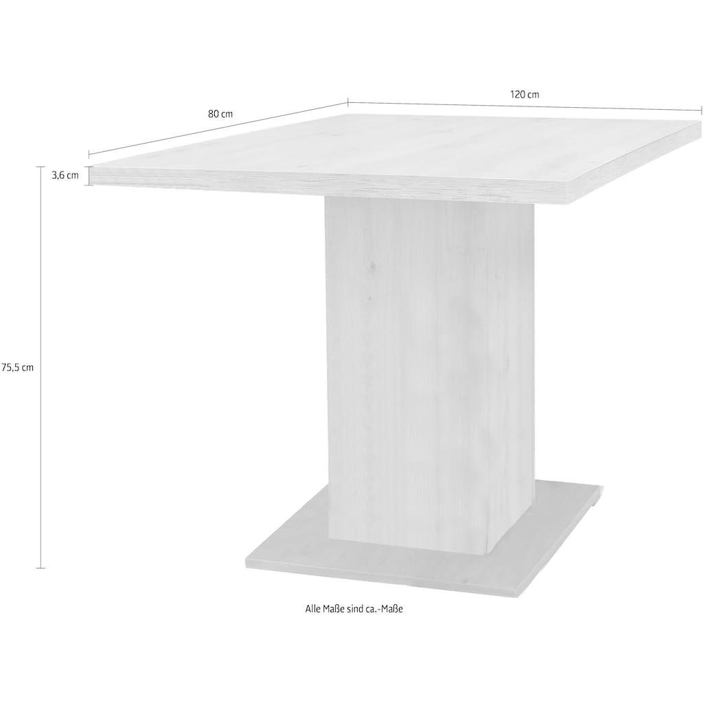 SCHÖSSWENDER Säulen-Esstisch »Cologne«, modernes Design, stabiles Gestell