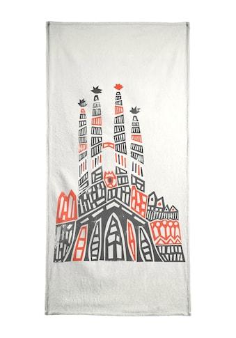 """Handtuch """"Sagrada Familia"""", Juniqe kaufen"""