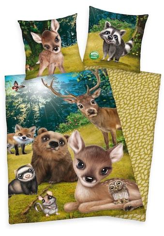 Kinderbettwäsche »Animal Club«, kaufen