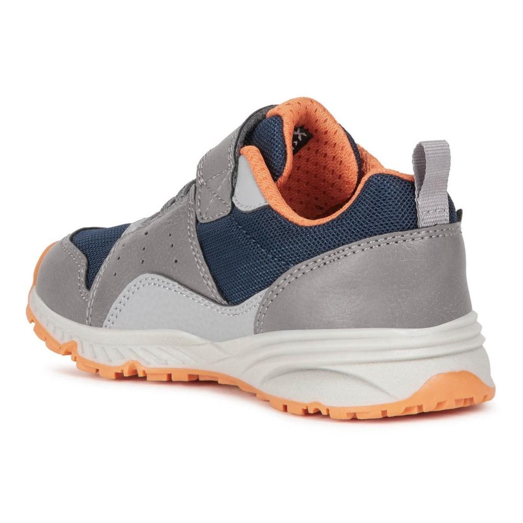 Geox Kids Sneaker »BERNIE«, mit bunter Laufsohle