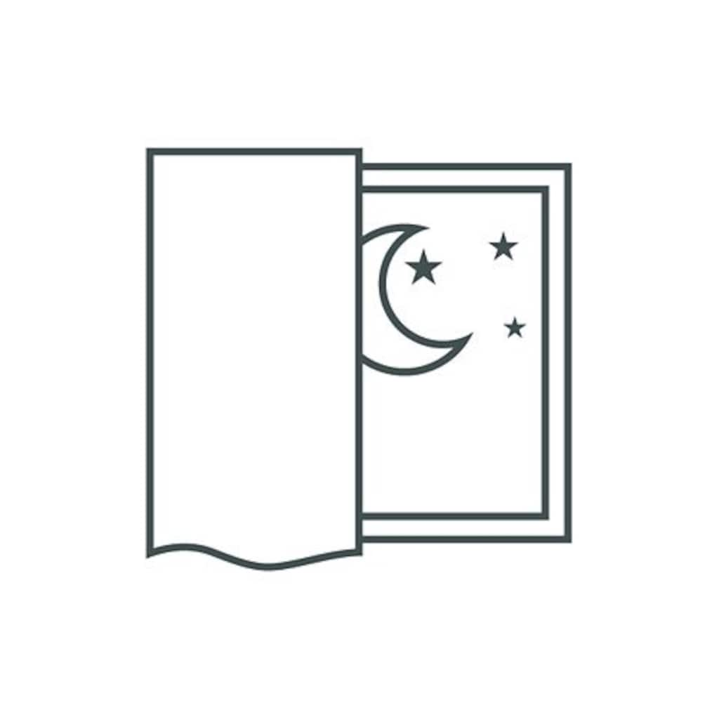 ADO Goldkante Vorhang nach Maß »Sleep Dim-Out«