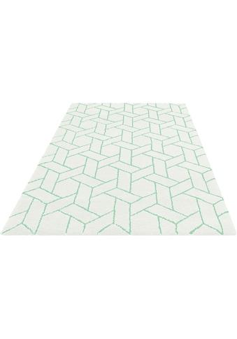 my home Teppich »Milan«, rechteckig, 20 mm Höhe, besonders weich durch Microfaser,... kaufen
