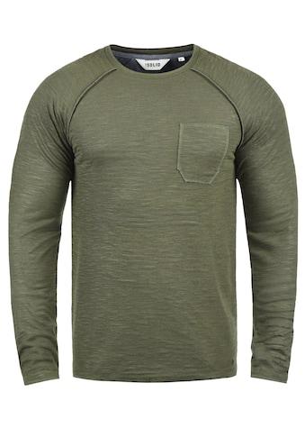 Solid Sweatshirt »Don«, Sweatpullover mit Brusttasche kaufen