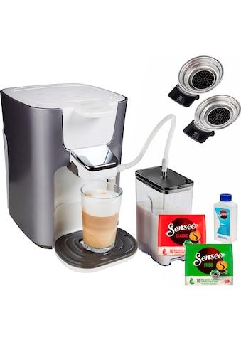 Senseo Kaffeepadmaschine »HD6574/20 Latte Duo«, inkl. Gratis-Zugaben im Wert von 14,- UVP kaufen