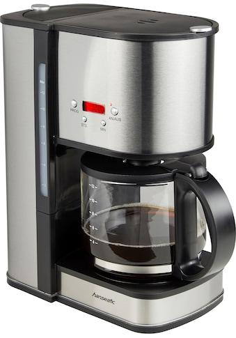 Hanseatic Filterkaffeemaschine »für 12 Tassen«, Papierfilter, 1x4, mit Glaskanne und... kaufen