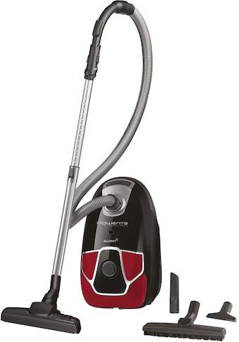 Rowenta Bodenstaubsauger »RO6859 Silence Force Allergy+ Parkett«, 450 W, mit Beutel, Permanenter Hochleistungsfilter kaufen