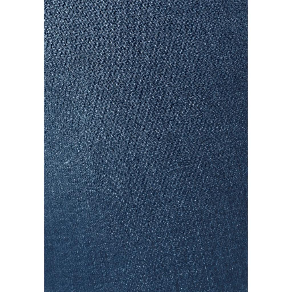 H.I.S 7/8-Caprijeans »Capri«, Nachhaltige, wassersparende Produktion durch OZON WASH
