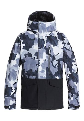 Quiksilver Snowboardjacke »Mission Printed Block« kaufen