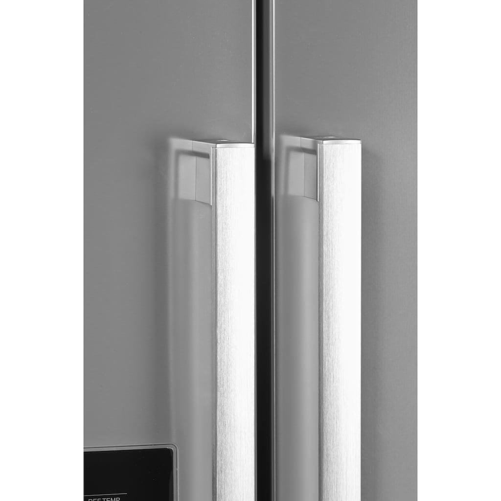 Hanseatic Side-by-Side, HSBS17990WEHFI, 176,5 cm hoch, 89,7 cm breit