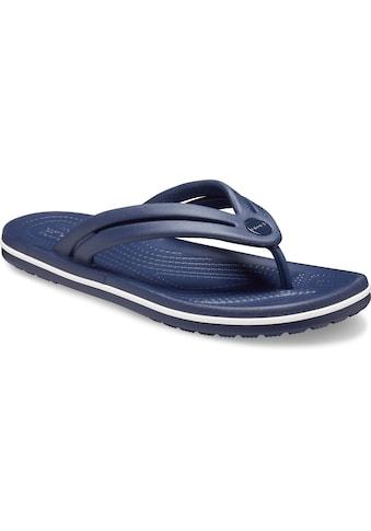 Crocs Zehentrenner »Crocband Flip«, mit leicht genoppter Innensohle kaufen