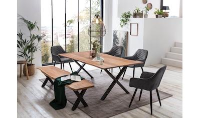Home affaire Esstisch »Soho«, mit echter Baumkante kaufen
