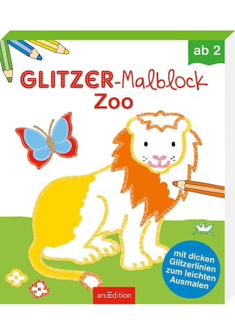 Buch Glitzer - Malblock Zoo / Corina Beurenmeister kaufen