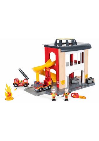 BRIO® Spiel-Feuerwehrwache »BRIO® WORLD Große Feuerwehrstation mit Einsatzfahrzeug«,... kaufen