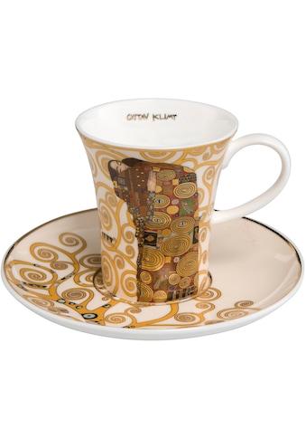 Goebel Espressotasse »Die Erfüllung«, von Gustav Klimt kaufen