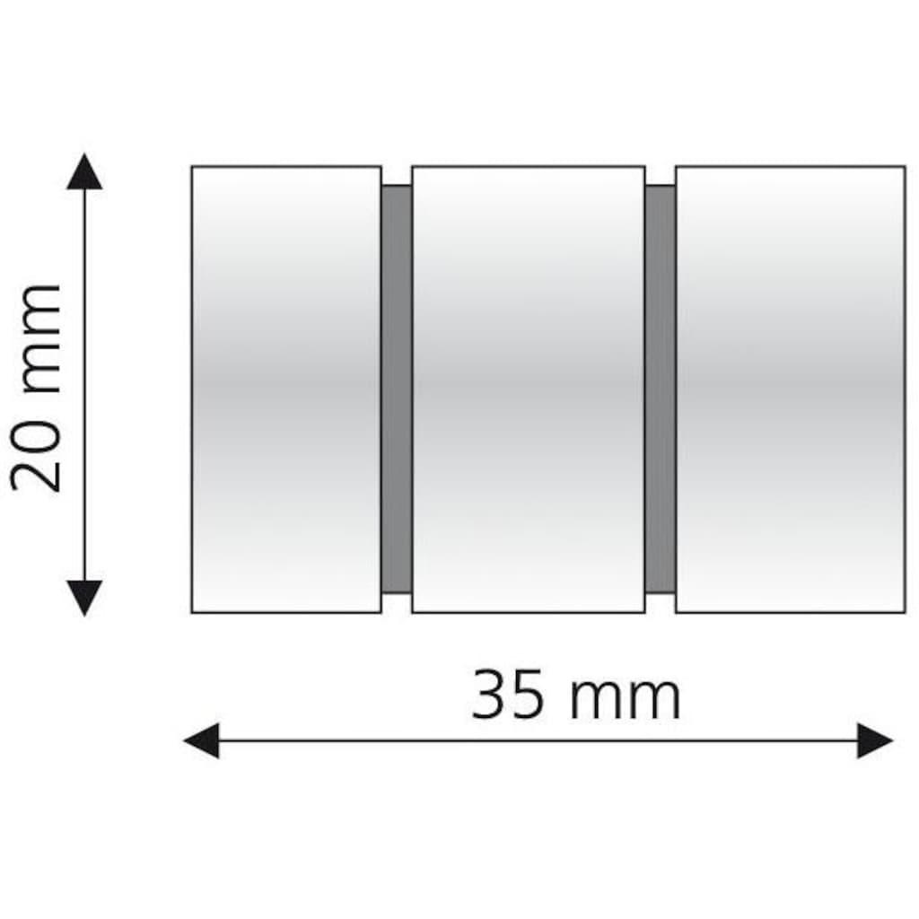 Liedeco Gardinenstangen-Endstück »Zylinder«, für Gardinenstangen Ø 16 mm