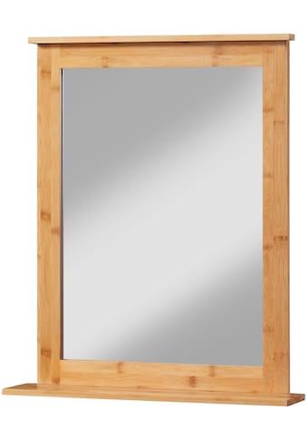 WELLTIME Badspiegel »Bambus New«, Wandspiegel 54 - 58 cm breit kaufen