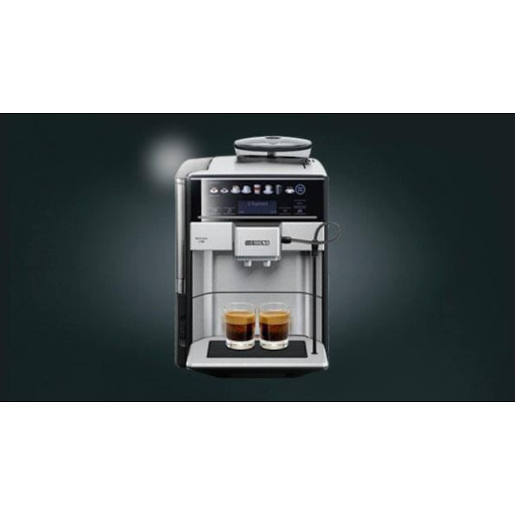 SIEMENS Kaffeevollautomat EQ.6 plus s700 TE657503DE, 1,7l Tank, Scheibenmahlwerk