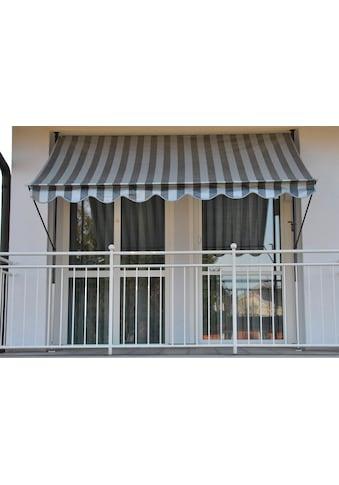 Angerer Freizeitmöbel Klemmmarkise, hell/dunkelgrau-anthrazit, Ausfall: 150 cm,... kaufen
