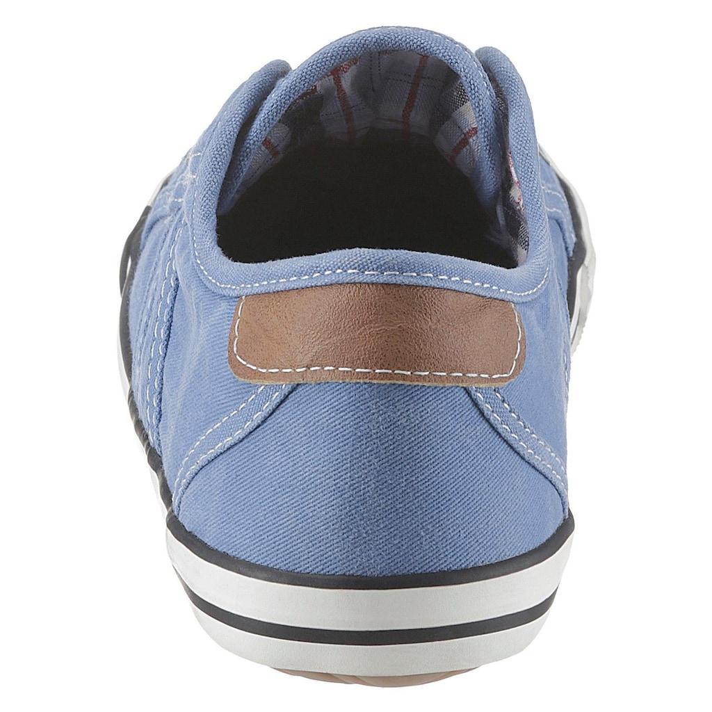 Mustang Shoes Slip-On Sneaker, in sommerlicher Farbpalette