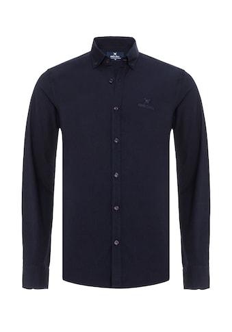 Auden Cavill Langarmhemd, mit unifarbenen Stoff kaufen