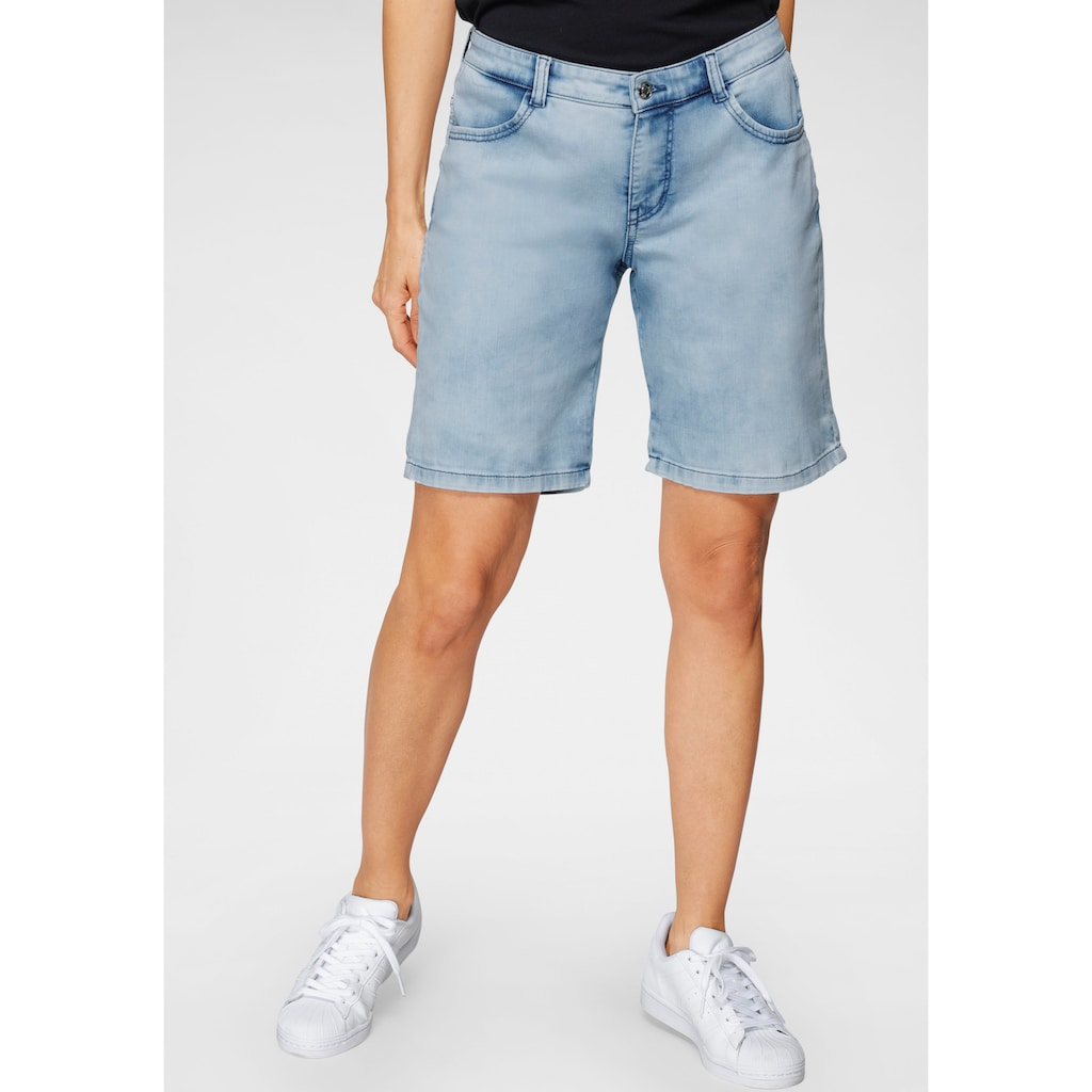 MAC Jeansshorts »Shorty summer clean«