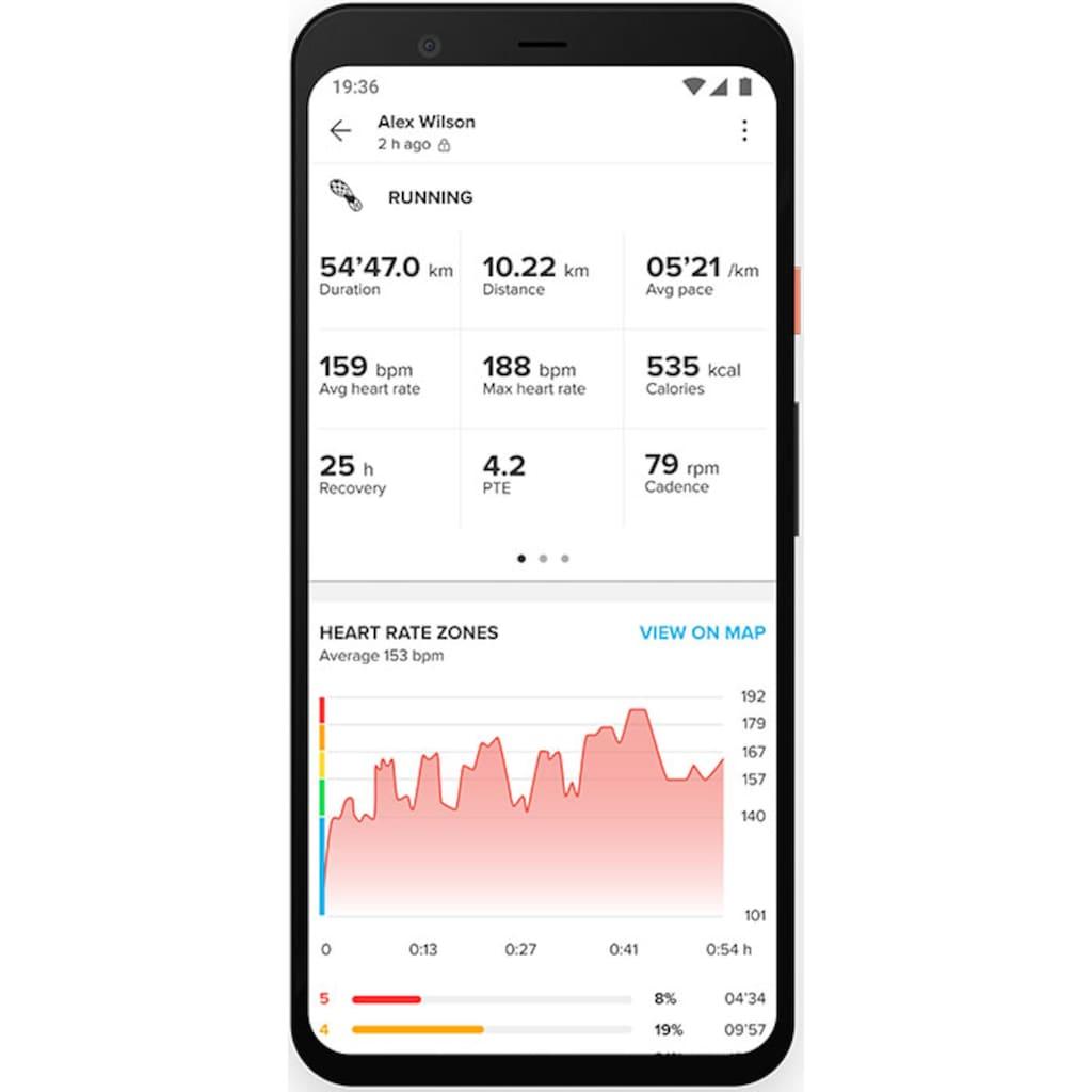 Suunto Smartwatch »SUUNTO 7«, (Wear OS by Google)
