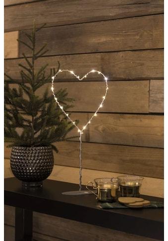 KONSTSMIDE LED Metallherz mit Metall - Fuß kaufen