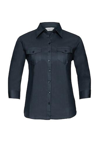 Russell 3/4-Arm-Shirt »Collection Damen Hemd / Bluse mit 3/4-Ärmeln« kaufen