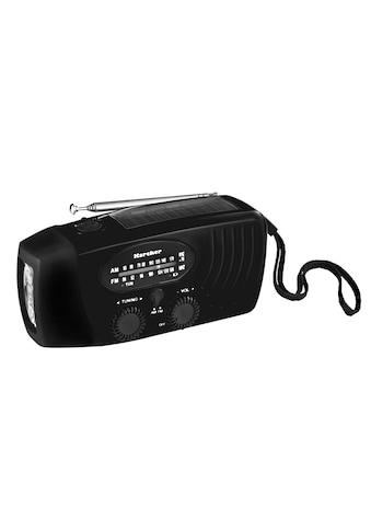 Karcher Radio »KR 110«, (AM-Tuner-FM-Tuner) kaufen
