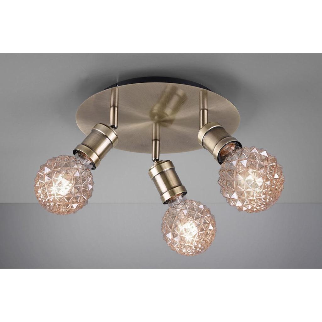 TRIO Leuchten Deckenleuchte »Carl«, E27, Deckenlampe