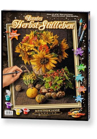 Schipper Malen nach Zahlen »Meisterklasse Premium Buntes Herbst Stillleben«, Made in... kaufen