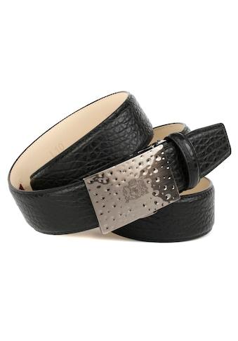 Anthoni Crown Ledergürtel, für Jeans mit Anthoni Crown Wappen kaufen