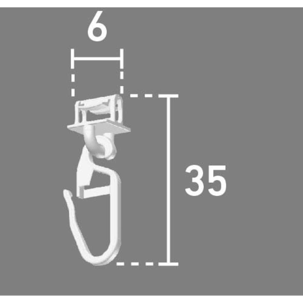 Good Life Klick-Gleiter »Alves«, für Vorhangstangen mit schmalem Lauf (4 mm)