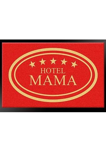 HANSE Home Fußmatte »Hotel Mama - 5 Sterne«, rechteckig, 8 mm Höhe, Schmutzfangmatte,... kaufen