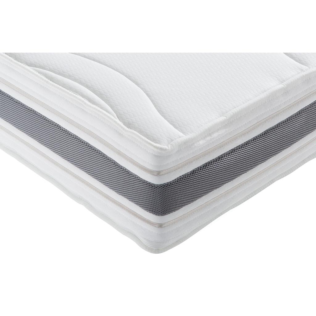 fan Schlafkomfort Exklusiv Kaltschaummatratze »ProVita De Luxe 23 KS«, 23 cm cm hoch, Raumgewicht: 30 kg/m³, (1 St.), mit Thermogelauflage für optimale Entlastung und perfekte Körperanpassung