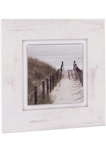 Home affaire Holzbild »Strandweg«, 40/40 cm kaufen