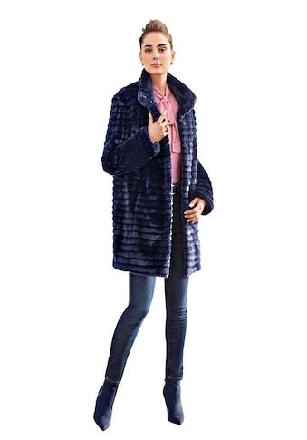 Uta Raasch Outdoorjacke »Jacke mit Stehkragen«, in Fake Fur kaufen