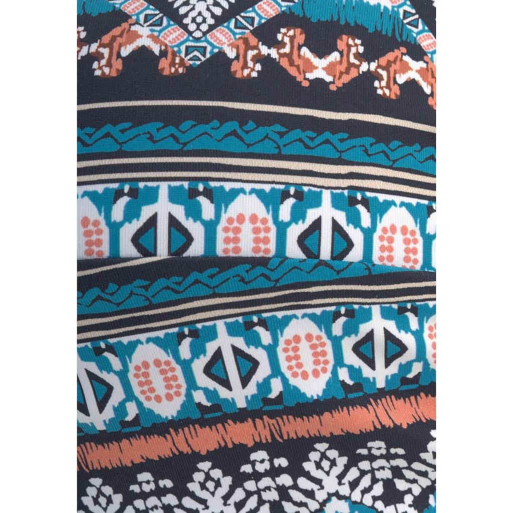 LASCANA Bandeau-Bikini-Top »Marrakesh«, mit angesagtem Print