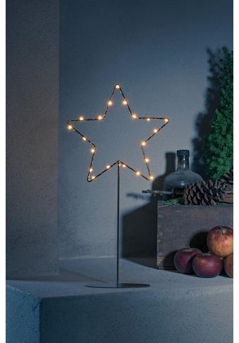 KONSTSMIDE LED Stern, LED-Modul, 1 St., LED Metallstern mit Metall-Fuß, kupferfarben... kaufen