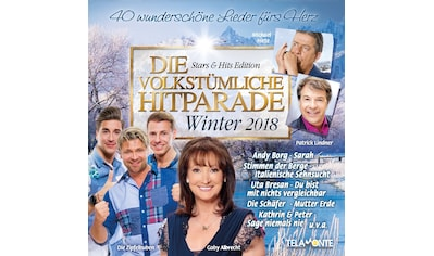 Musik-CD »Die volkstümliche Hitparade-Winter 2018 / Various« kaufen