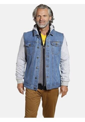 Jan Vanderstorm Jeansjacke »FOLKER«, robuster Baumwoll-Denim kaufen
