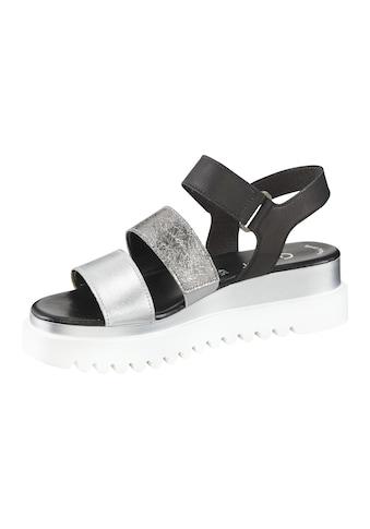 Sandalette mit breiten Bändern kaufen
